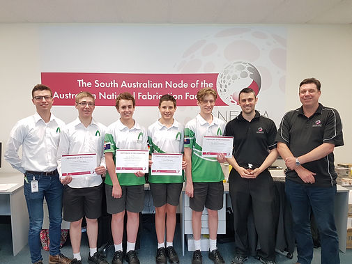 Brighton Secondary School partner with ANFF-SA for competitive edge in F1 challenge