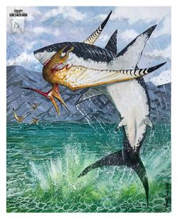 Shark v Dactyl