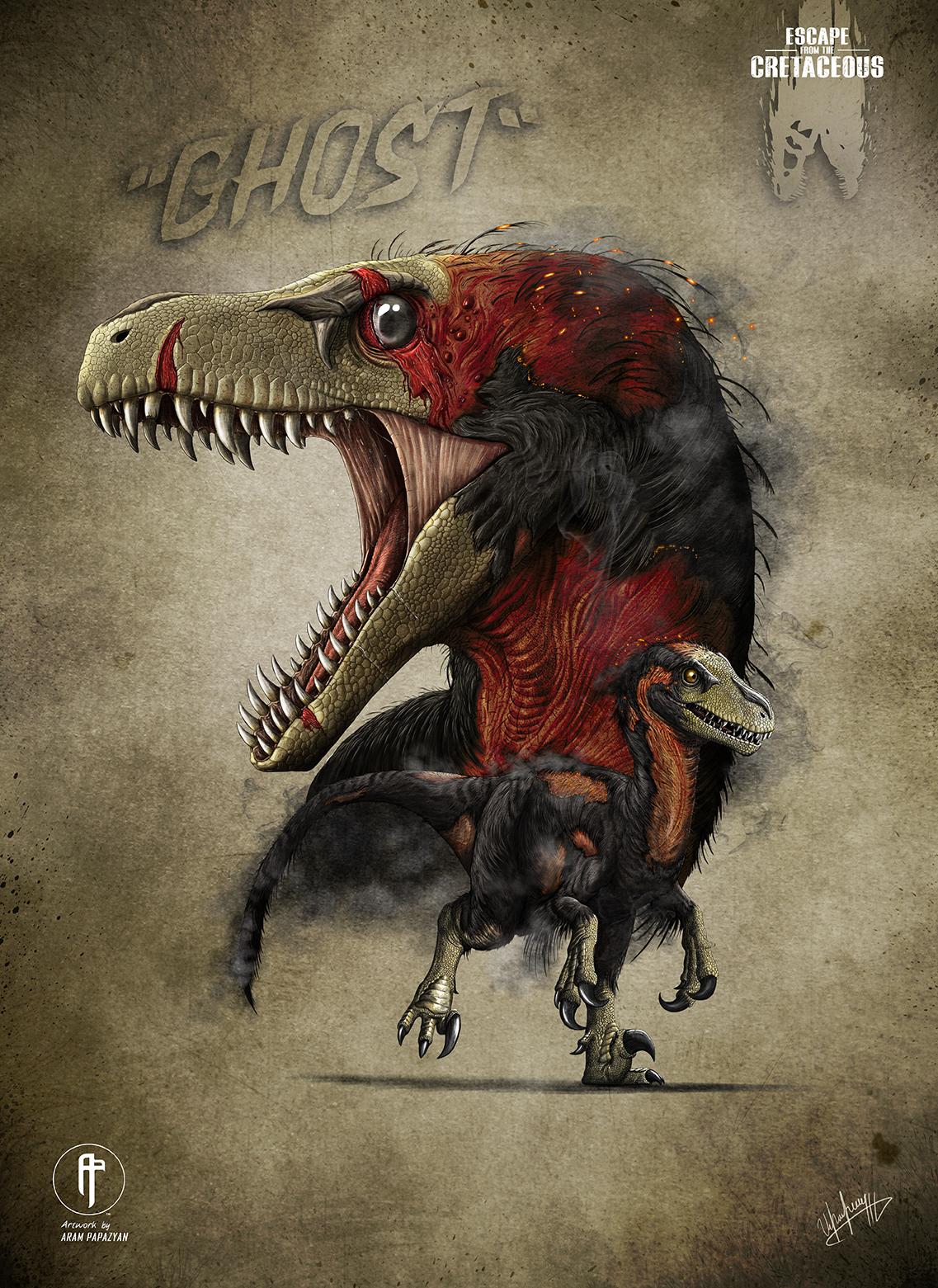 Ghost Dromeosaurus