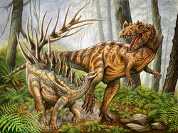 Kentrosaurus & Ceratosaurus