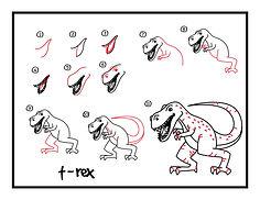 تعلم-رسم-الديناصور-T-Rex.jpg