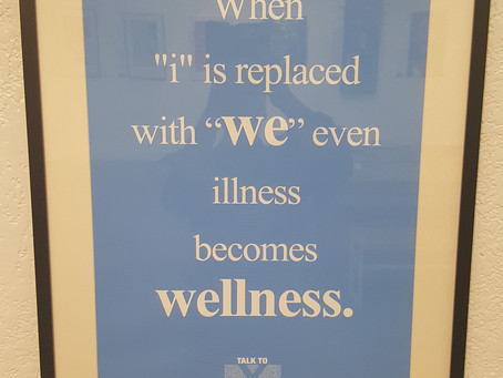 UNSOLICITED ADVICE: Wellness