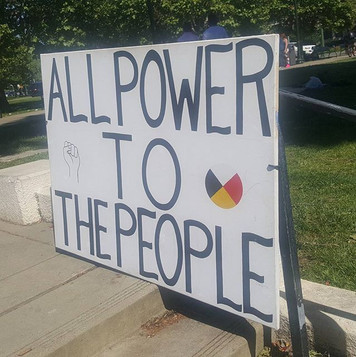 _ALL POWER TO THE PEOPLE_ Message! It re