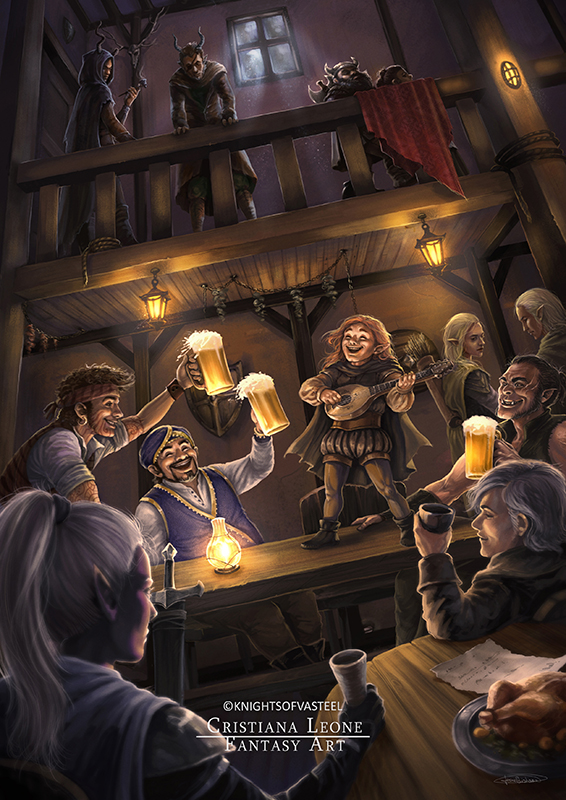 Evening in the Tavern
