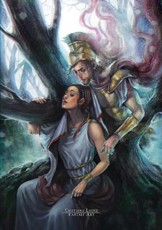 Rhea Silvia and Mars