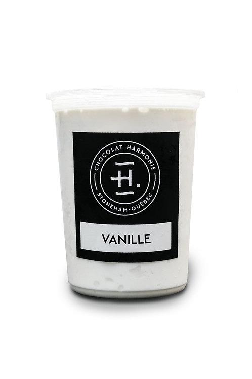 1L de Crème Glacée à la Vanille
