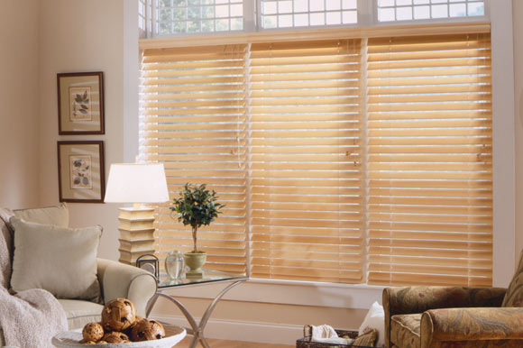 Horizontal Wood Blinds