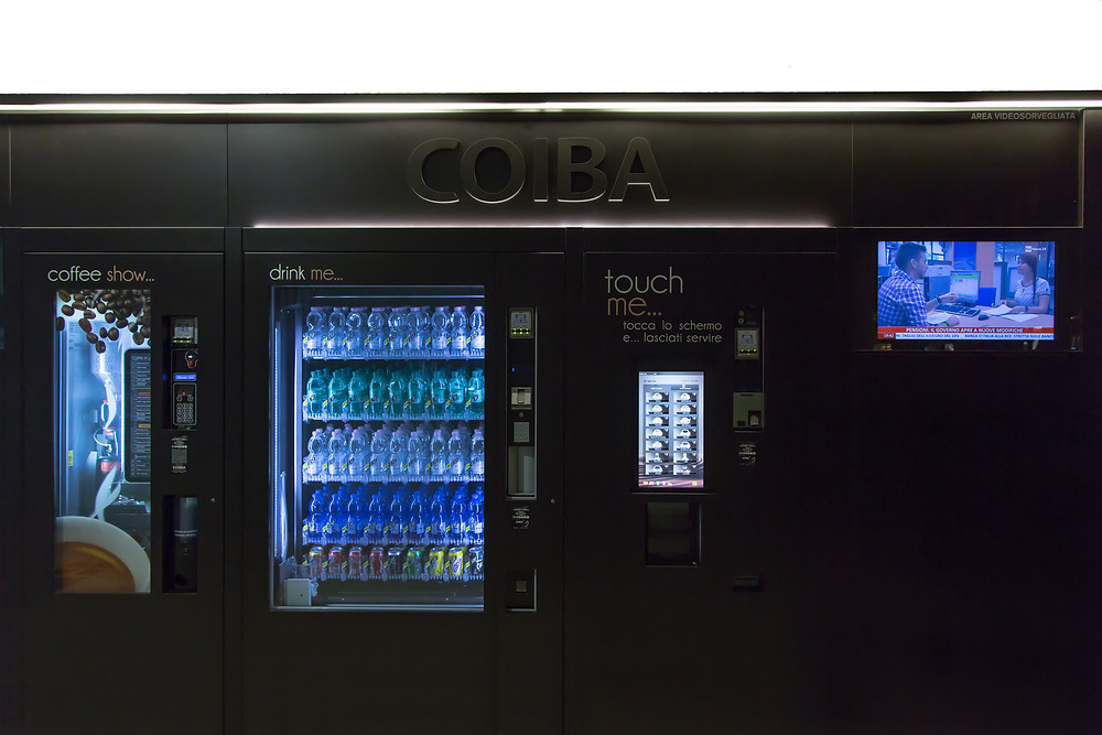 Distributori automatici Arezzo h24
