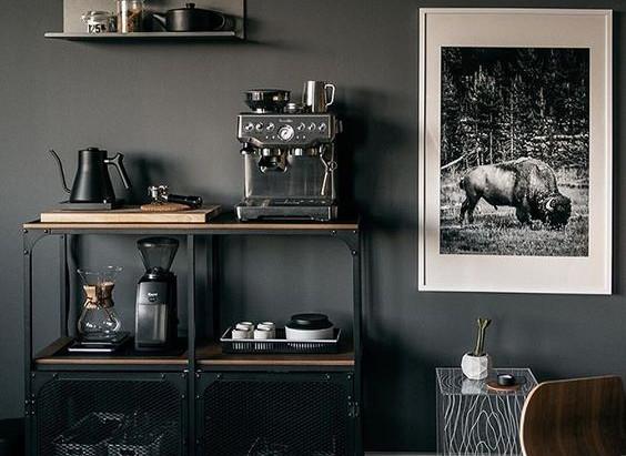L'angolo caffè a casa tua