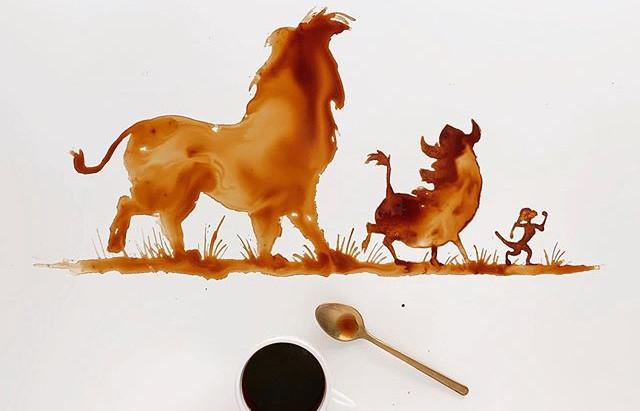 Coffee Art: l'arte di dipingere con il caffè