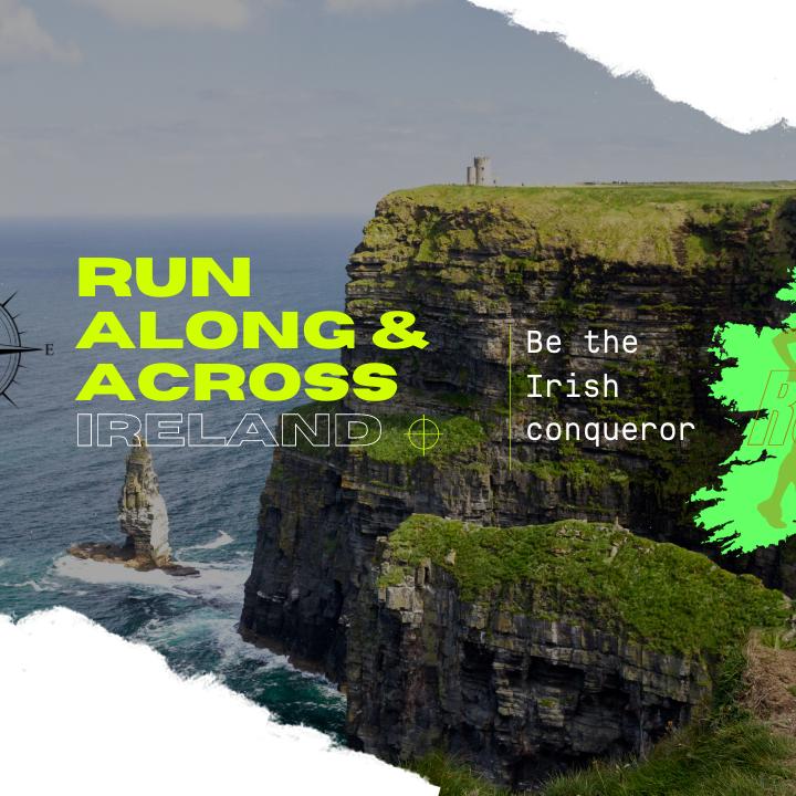 Run Along & Across Ireland Virtual Race