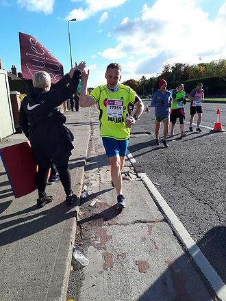 Julian Arnold Dublin Marathon