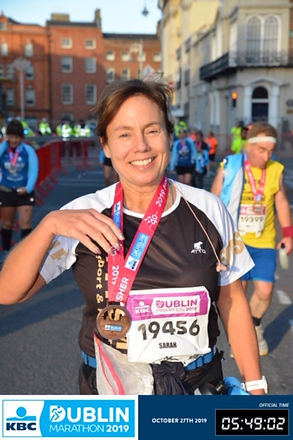 Sarah Durcan Dublin Marathon
