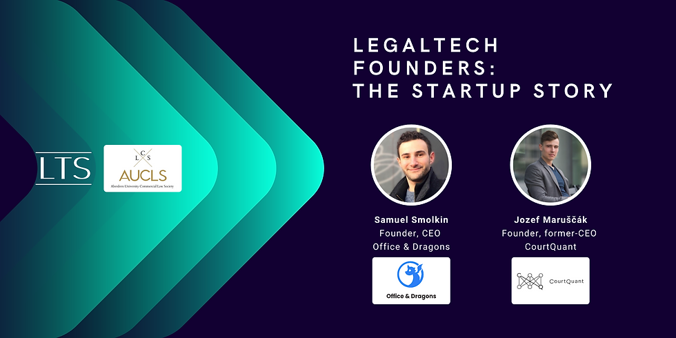LegalTech Founders: The Startup Story