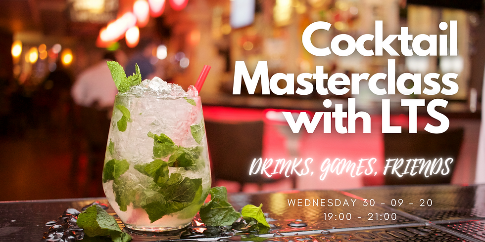 Cocktail Masterclass with LTS (social)