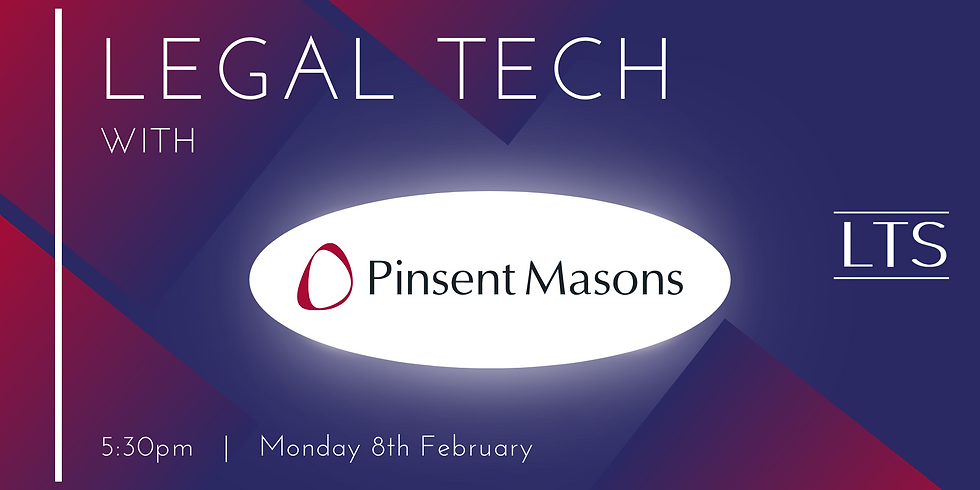 Legal Tech with Pinsent Masons