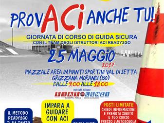 ProvACI anche Tu! Torna il Piazzale di Guida Sicura di ACI Bologna!