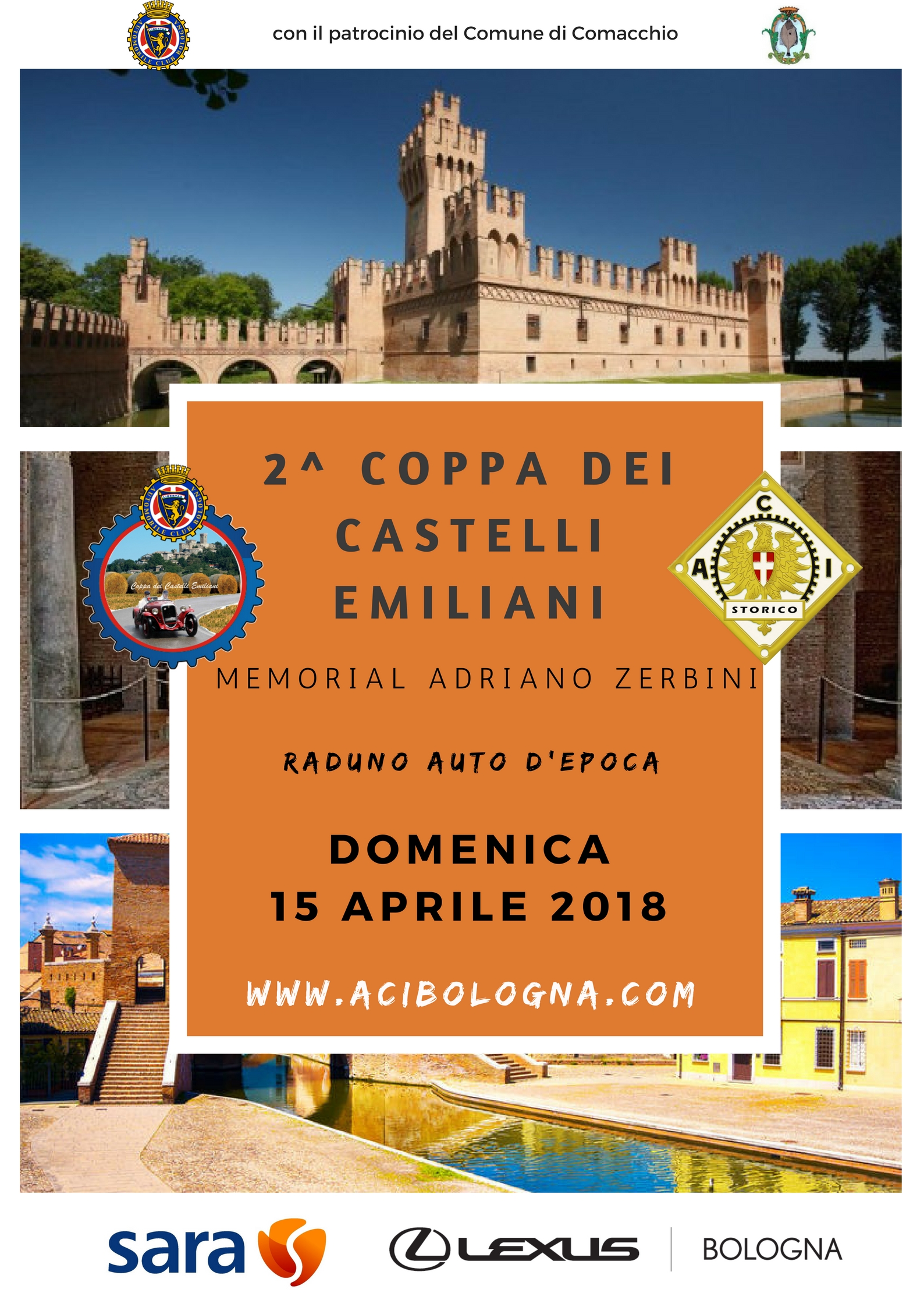 torna il 15 aprile la 2^ coppa dei castelli emiliani! | autobo