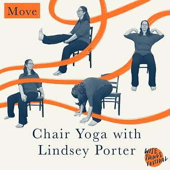 Chair Yoga with Lindsey Porter