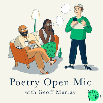 Poetry open mic with Geoff Murray