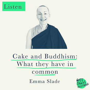 Cake and Buddhism: what they have in common - Emma Slade