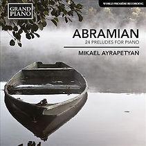 Абрамян. Прелюдии для фортепиано