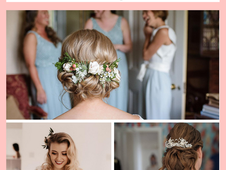 13 Ways to Style your Hair for your Wedding Day
