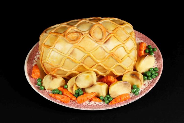 Beef Wellington 60th Birthday Cake