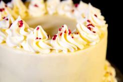 White Chocolate and Raspberry Drip Cake