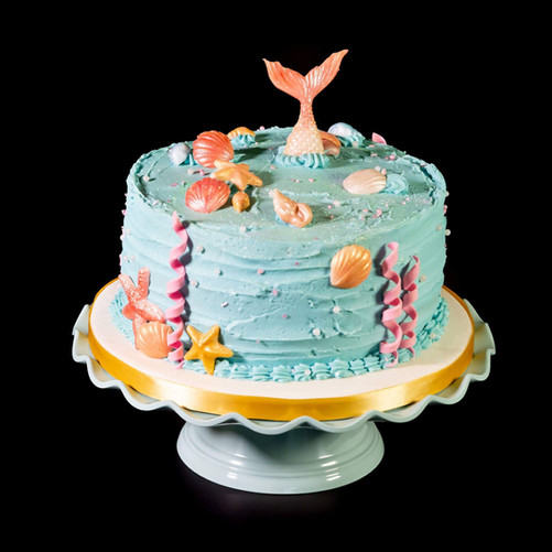 Mermaid Birthday Cake