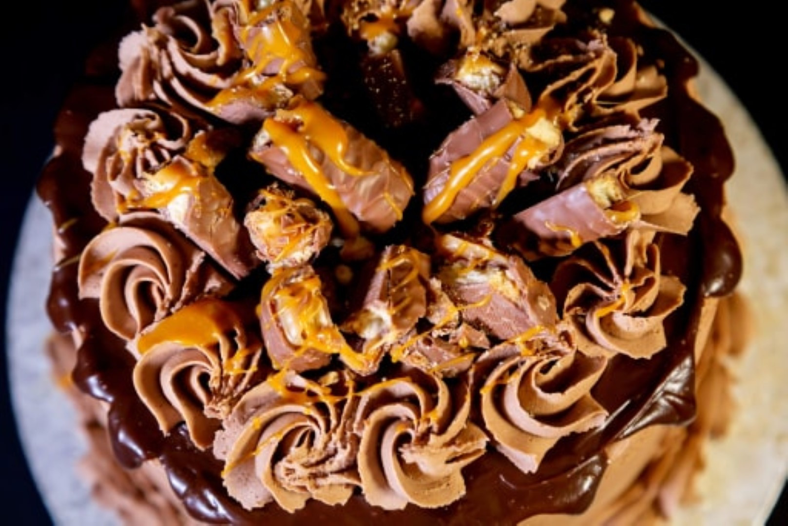 Salted Caramel Birthday Cake