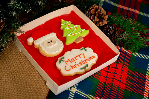 Merry Christmas Biscuit Box