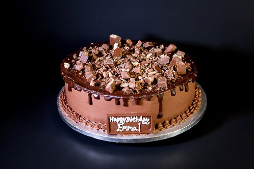 Chocolate Drip Layer Cake
