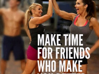 Make Time for Friends!