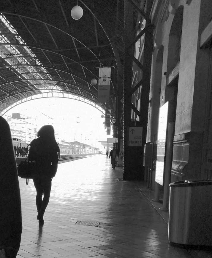 Street viajeros-Estacion Norte