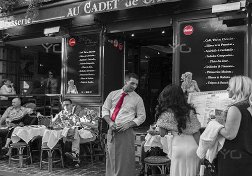 Street Photograpy La carta Paris