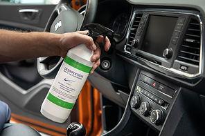 eca h2o desinfektion til biler