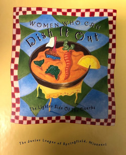 Women Who Can Dish it Out Cookbook