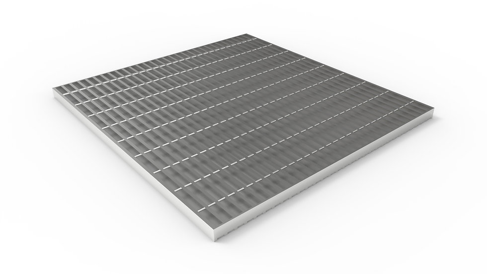 "38"" wide stainless steel trench drain bar grate"
