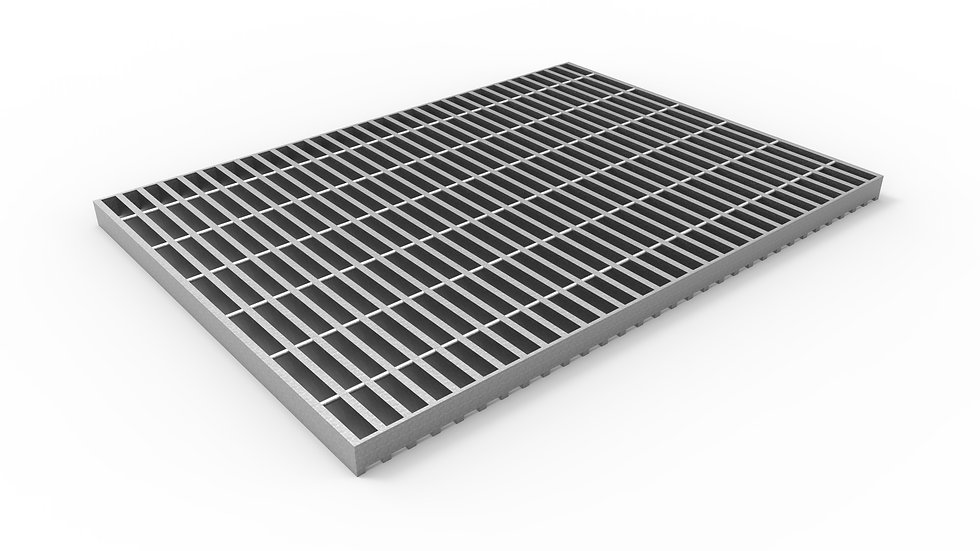 "26"" wide galvanized steel trench drain bar grate"