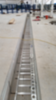 Utility trench channel strut