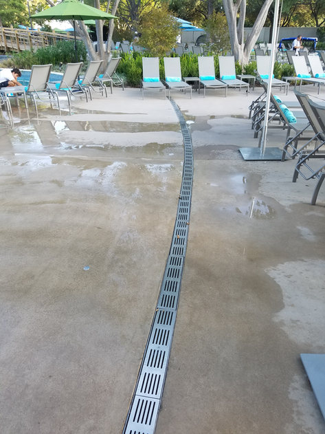 Hotel Swimming Pool Deck