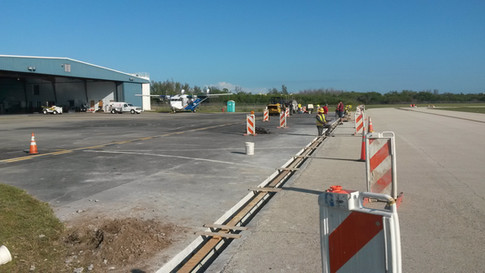 Naples Airport trench drain replacement