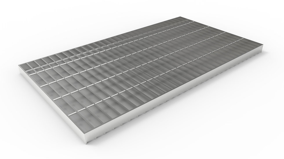 "20"" wide stainless steel trench drain bar grate"