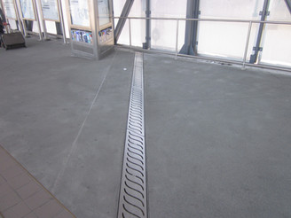 Decorative Stainless Trench Drain