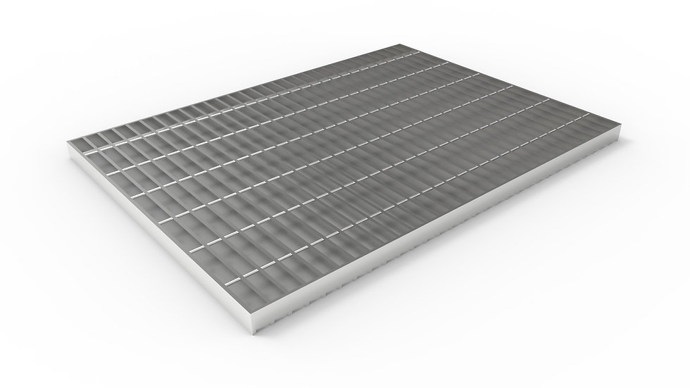 "26"" wide stainless steel trench drain bar grate"
