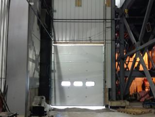 Boiler room trench drain