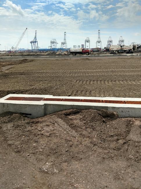 Greenville Intermodal Container Yard