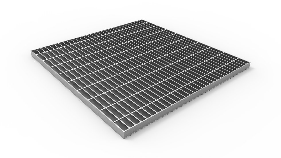 "38"" wide galvanized steel trench drain bar grate"