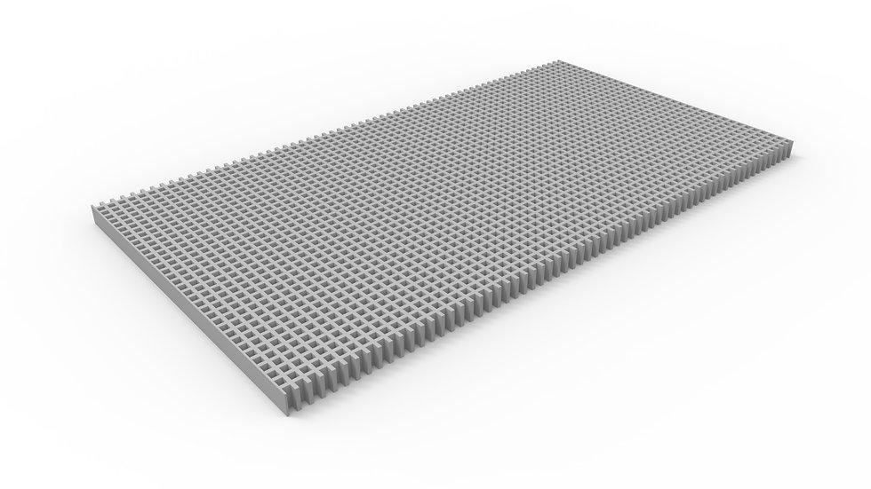 "26"" wide ADA compliant fiberglass mesh trench drain grate"